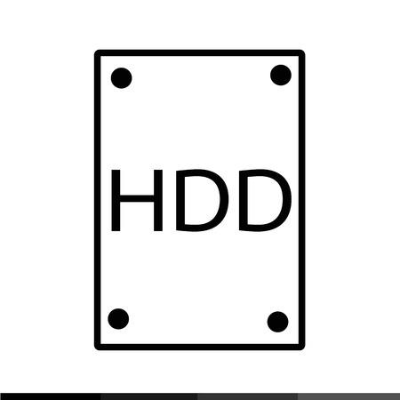 sata: Hard Disk Icon Illustration design
