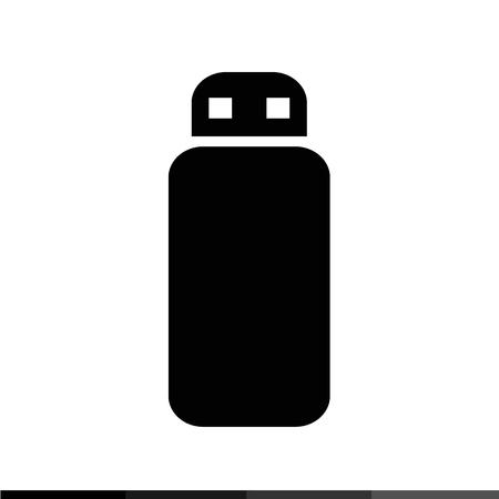 usb memory: USB Memory Icon Illustration design