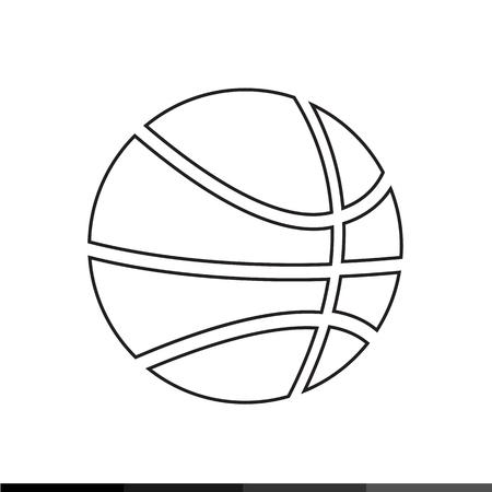sports jersey: Basketball icon Illustration design