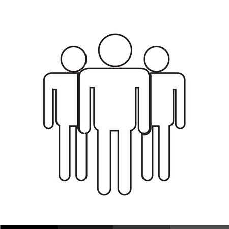 oldman: Pictogram People Icon Illustration design Illustration