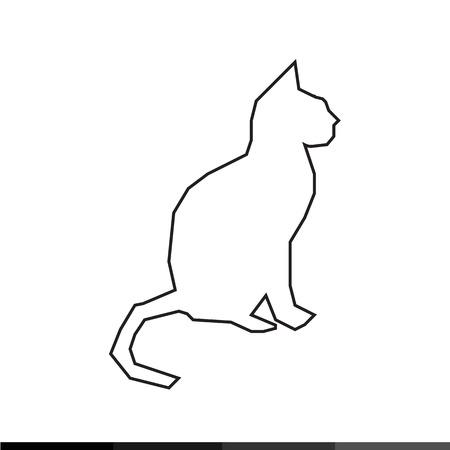 tomcat: Cat Icon Illustration design Illustration