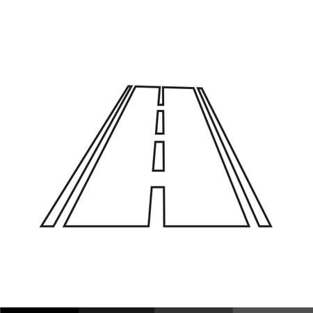 bitumen: Road icon Illustration design