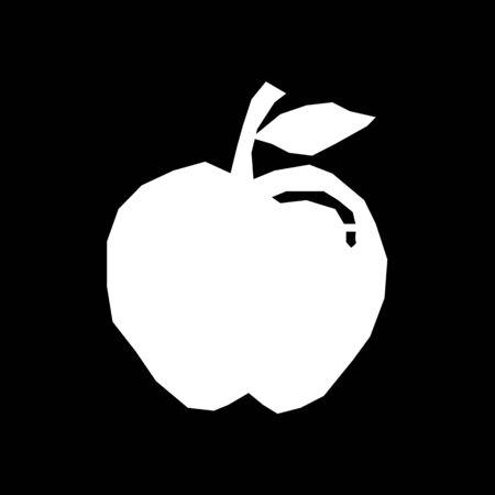 crunch: Apple Icon Illustration design Illustration