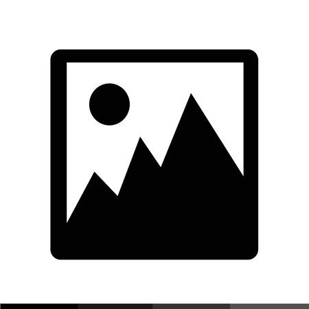 photograph: photograph icon Illustration design