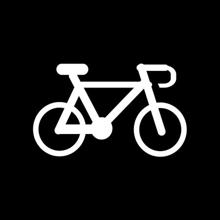 recreational pursuit: Bicycle icon Illustration design