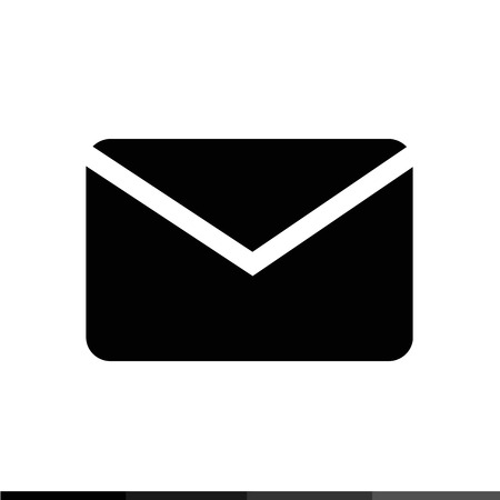 spamming: Envelope Mail Icon illustration design Illustration