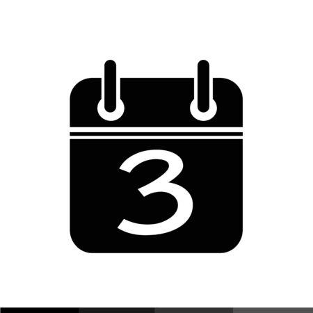 calendar icon: Simple Calendar Icon illustration design Illustration