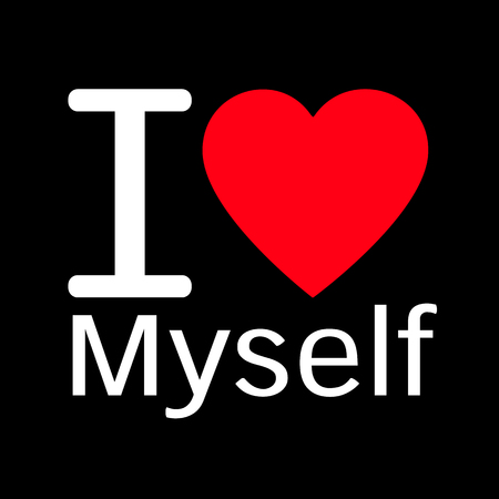I Love Myself Stock Photos And Images 123rf