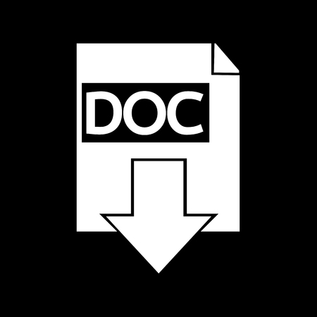 format: document format icon Illustration design