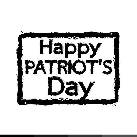 patriot day Illustration design
