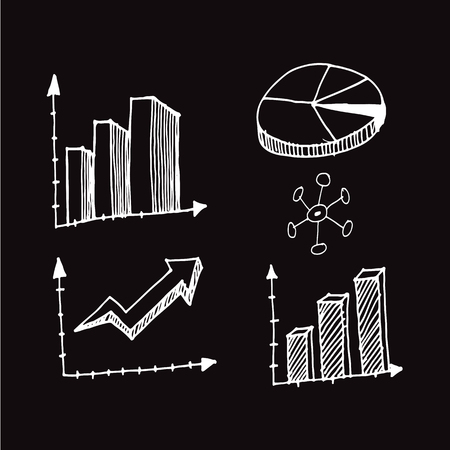 freehand drawing: Freehand drawing charts Illustration design Illustration