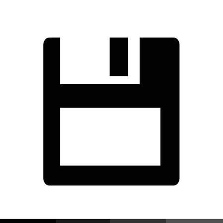 textfield: Floppy Disk Icon Illustration design Illustration