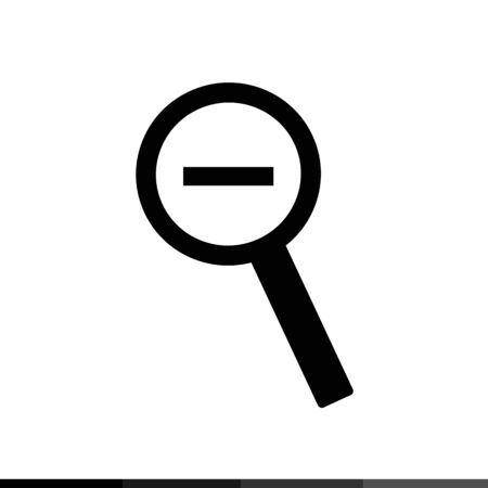 magnifier glass: Magnifier Glass Icon Illustration design