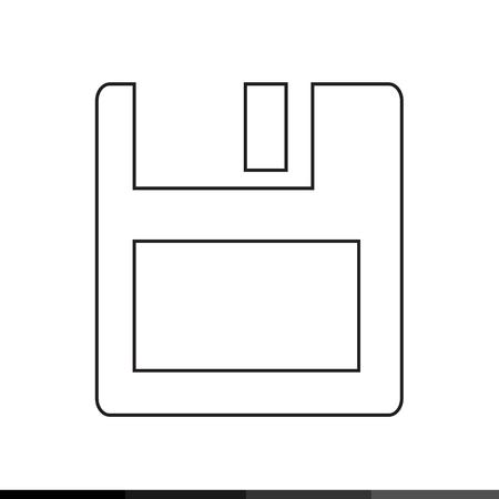 Floppy Disk Icon Illustration design Illustration