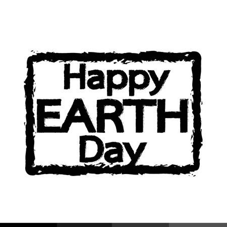 earth day: HAPPY Earth Day Illustration design