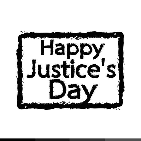 judgement day: Justice Day Illustration design Illustration