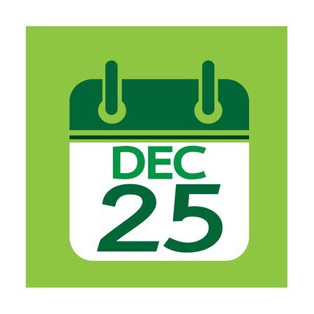 calendar design: Calendar Icon Illustration design