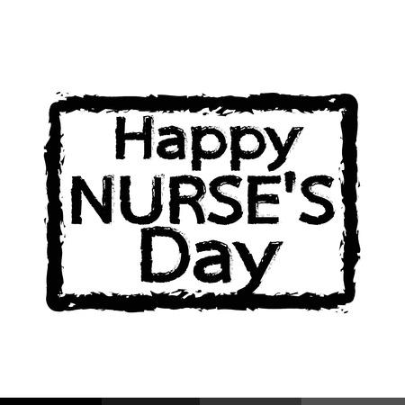 registered nurse: International nurse day Illustration design Illustration