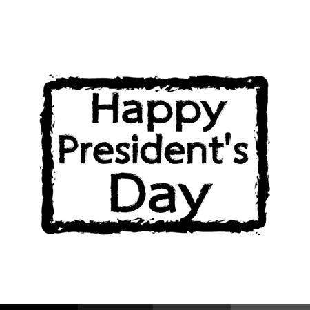 presidents: Presidents Day Icon Illustration design