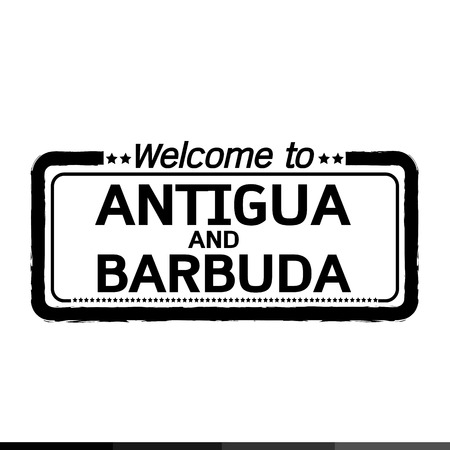 antigua: Welcome to ANTIGUA AND BARBUDA illustration design Illustration