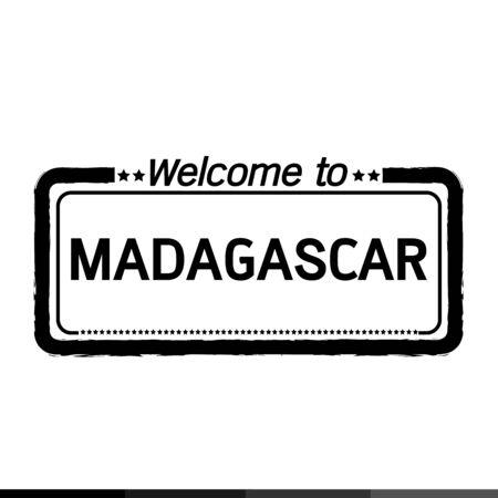 madagascar: Welcome to MADAGASCAR illustration design Illustration