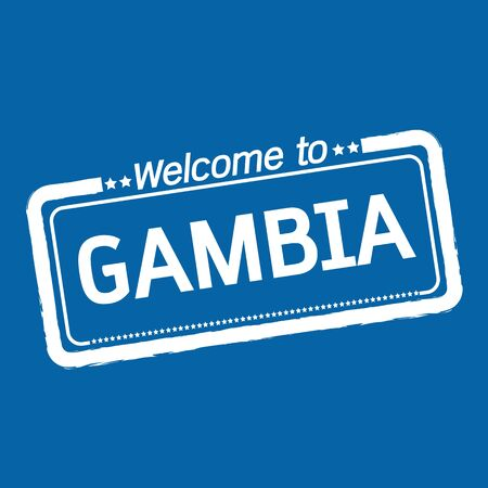 gambia: Welcome to GAMBIA illustration design