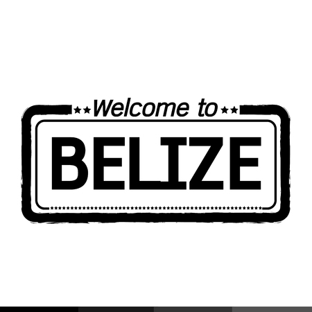 belize: Welcome to BELIZE illustration design