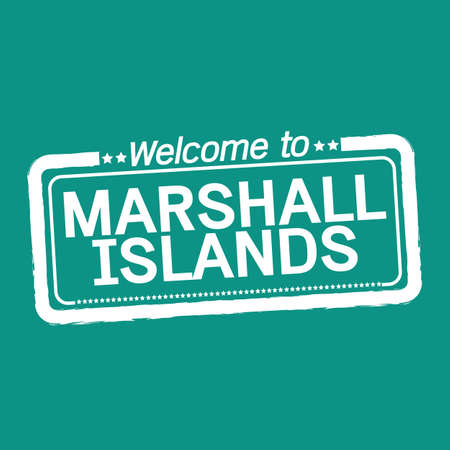 marshall: Welcome to MARSHALL ISLANDS illustration design