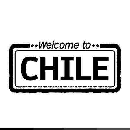 chile: Welcome to CHILE illustration design Illustration