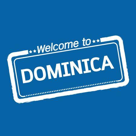 dominica: Welcome to DOMINICA illustration design Illustration