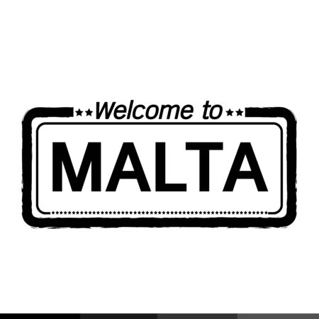 malta: Welcome to MALTA illustration design