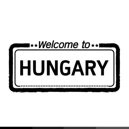 hungary: Welcome to HUNGARY  illustration design Illustration