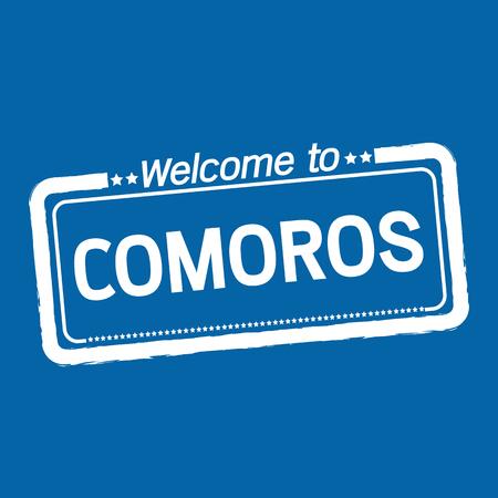 comoros: Welcome to COMOROS illustration design Illustration