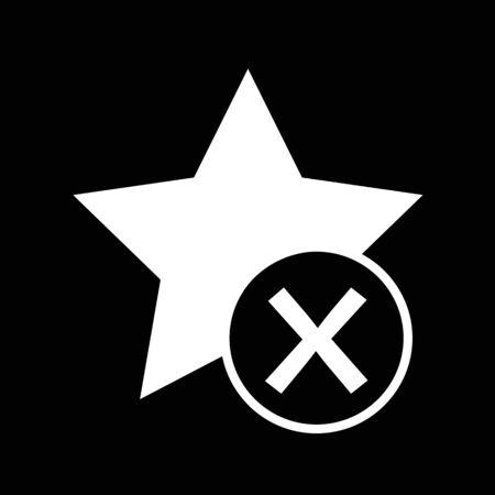 star icon: Star Icon illustration design Illustration