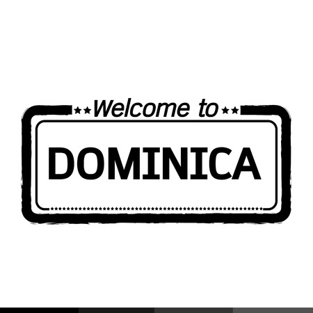 dominica: Welcome to DOMINICA illustration design Illustration