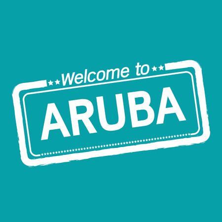 aruba: Welcome to ARUBA illustration design