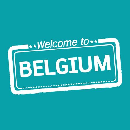 belgium: Welcome to BELGIUM illustration design
