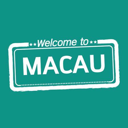 macau: Welcome to MACAU illustration design
