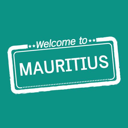 mauritius: Welcome to MAURITIUS illustration design