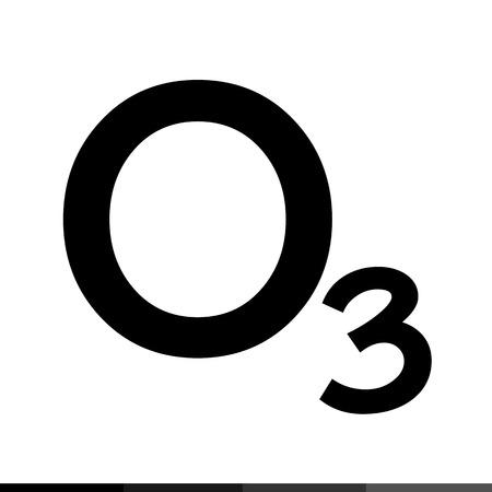 ozone: Ozone icon illustration design