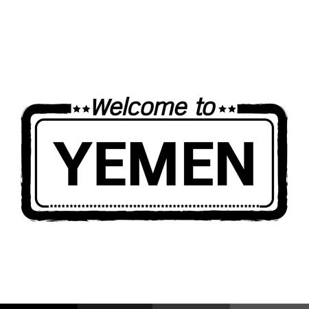 yemen: Welcome to YEMEN illustration design