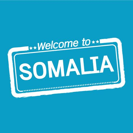 somalia: Welcome to SOMALIA illustration design