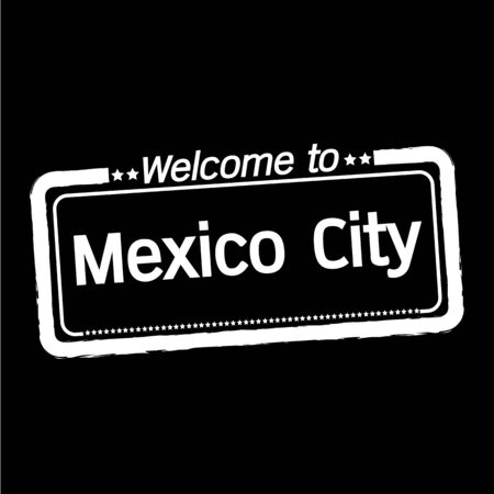 municipality: Welcome to Mexico City illustration design