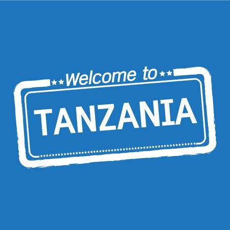 tanzania: Welcome to TANZANIA illustration design