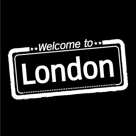 municipality: Welcome to London City illustration design Illustration