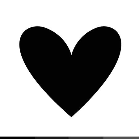 Icono del corazón, ilustración, diseño