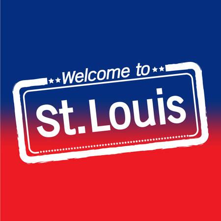 louis: Welcome to St. Louis City illustration design Illustration