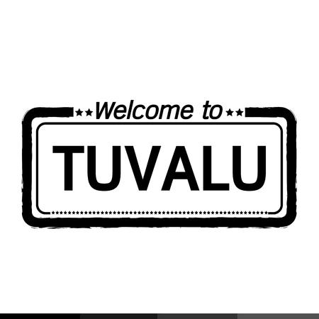 tuvalu: Welcome to TUVALU illustration design