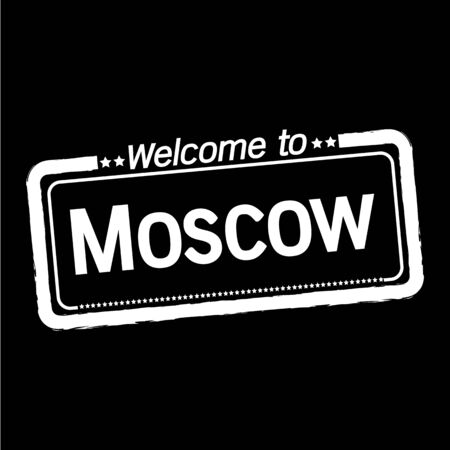 moscow: Welcome to Moscow City illustration design