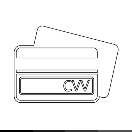 cvv: Card Verification Value CVV icon illustration design